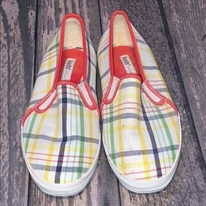 Keds multicolored Striped Flat Shoes Size 7.5